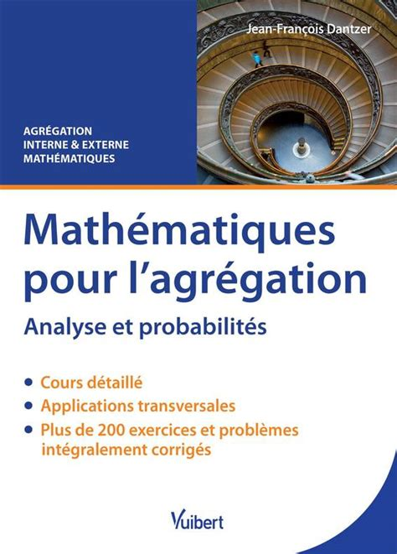 Mathematiques Pour L Agregation Interne Analyse Et Probabilites