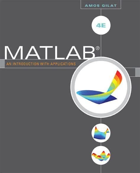 Matlab Gilat 4th Edition