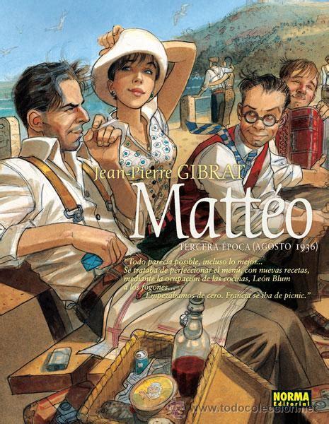 Matteo Tercera Epoca Agosto 1936 Comic Europeo Norma