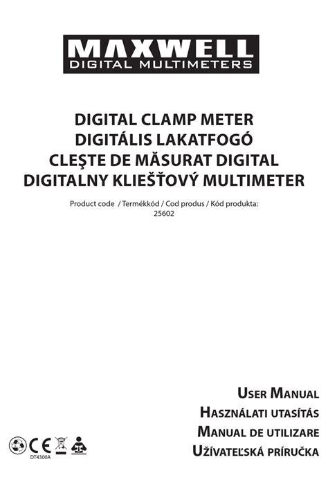 Maxwell Software Manual