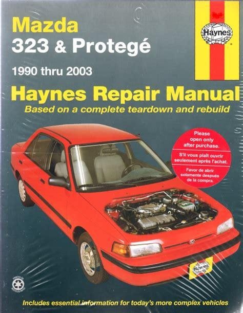 Mazda 323 And Protege 1990 2000 Haynes Repair Manual