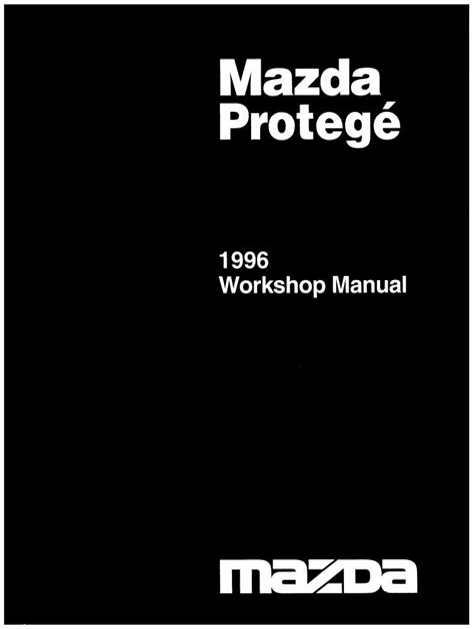 Mazda 323 Ba Workshop Manual