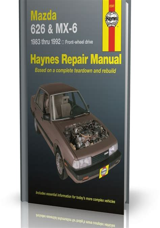 Mazda 626 Mx 6 1987 1991 Service Repair Workshop Manual