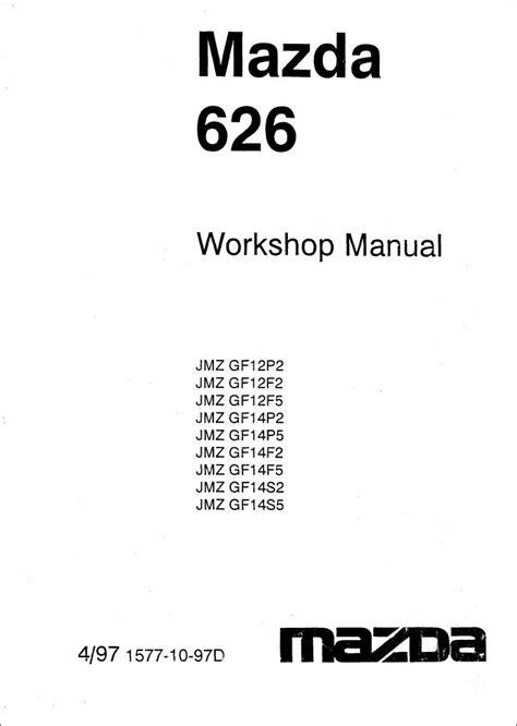 Mazda L Engine Repair Manual