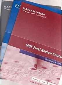 Mbe Final Review Course Books Questions 1 100 101 200 And Explanatory Answers
