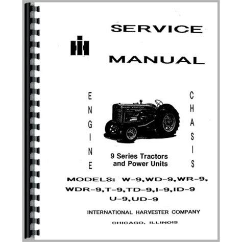 Mccormick Deering Wd9 Tractor Diesel Pump Manual