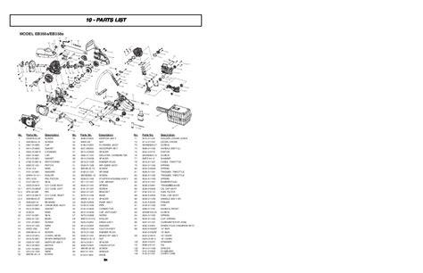 Mcculloch Eb358a Manual