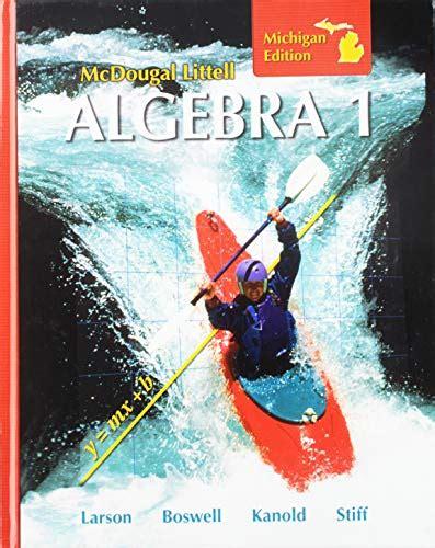 Mcdougal Littel Algebra 1 Michigan Edition Answers