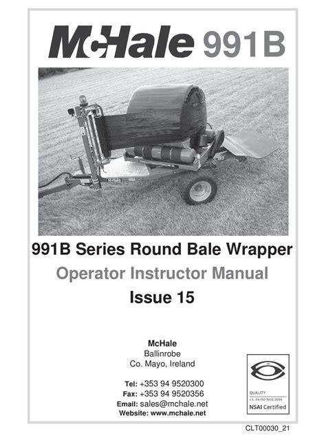 Mchale 991 Bc Manual