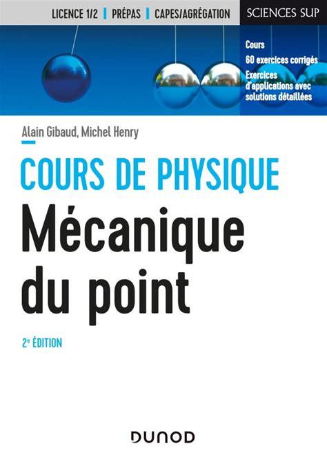 Mecanique Du Point