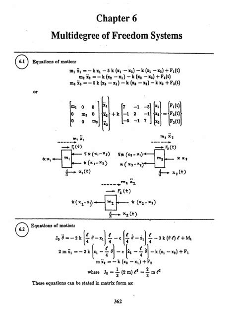 Mechanical Vibrations 2nd Edition Rao Solution Manual