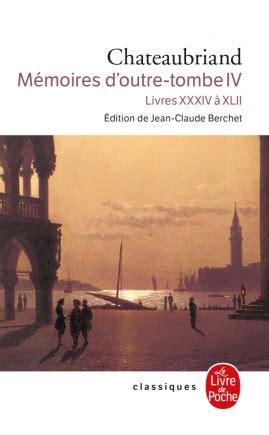 Memoires D Outre Tombe Vol 4 Classic Reprint