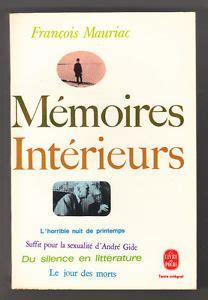 Memoires Interieurs