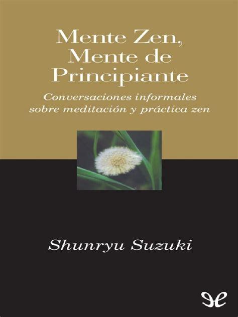 Mente Zen Mente De Principiante Gaia Perenne