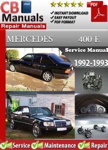 Mercedes 400e Repair Manual