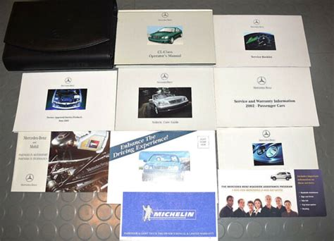Mercedes Benz 2000 Cl Class Cl500 Cl55 Amg Cl600 Owners Owners User Operator Manual