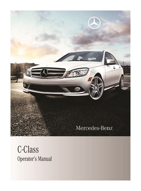 Mercedes Benz C Class Owners Manual 2010