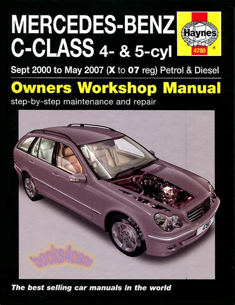 Mercedes Benz C180 Service Manual 2001