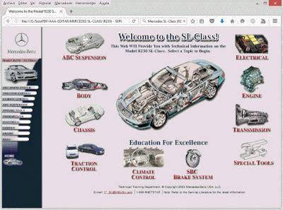 Mercedes R230 Repair Manual
