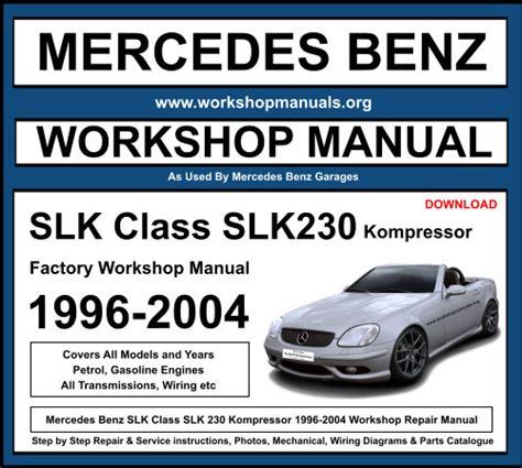 Mercedes Slk Kompressor Repair Manual
