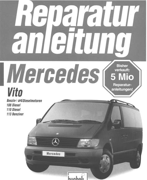 Mercedes Vito W638 Service Manual
