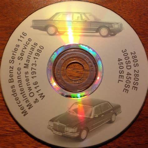 Mercedes W116 Service Manual Cd