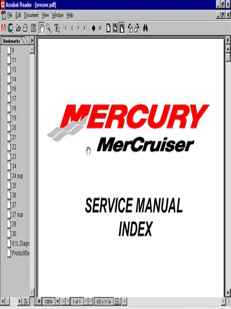 Mercruiser Service Manual