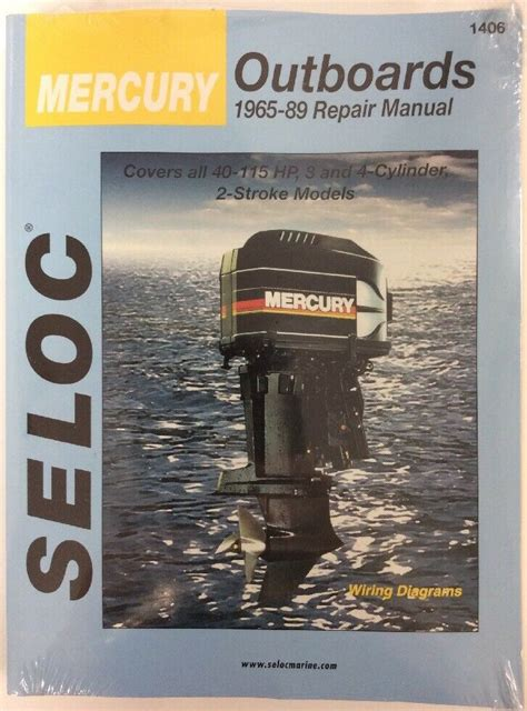 Mercury Outboard 40 115 Service Repair Manual 1965 89