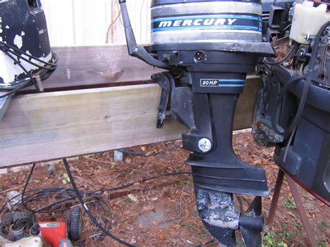 Mercury 20 Hp 2 Stroke 1998 Factory Service Workshop Manual