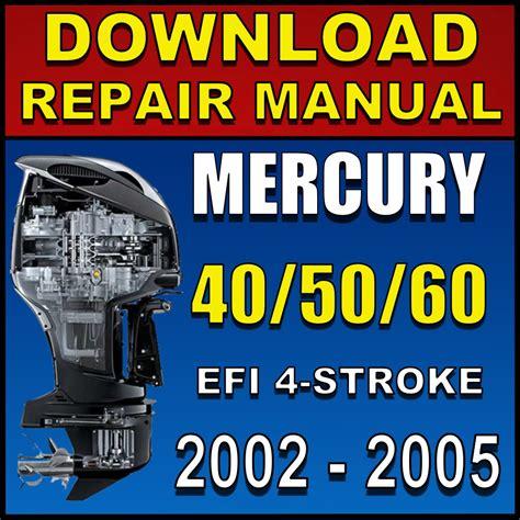 Mercury 50 Efi Manual