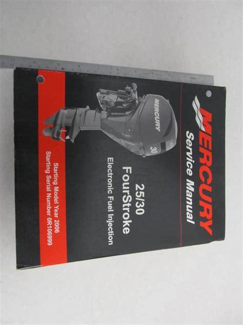 Mercury 50hp 4 Stroke Repair Manual 2006