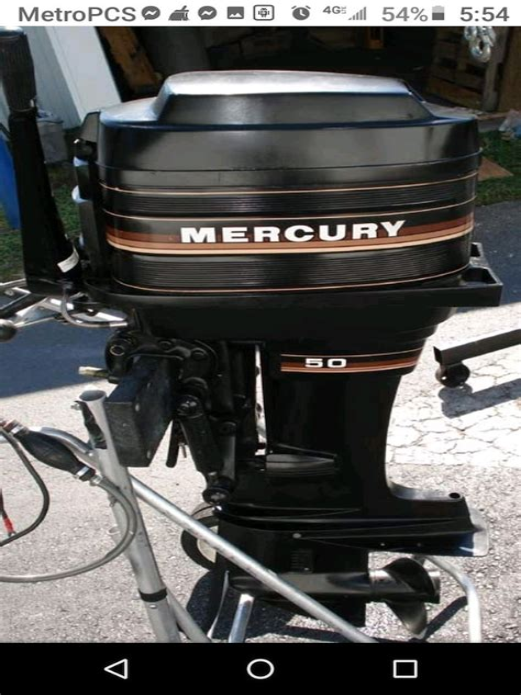 Mercury 85hp Outboard Motor Manual