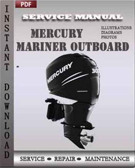 Mercury Mariner Outboard 50 Hp Bigfoot 4 Stroke Service Repair Manual