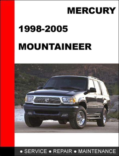 Mercury Mountaineer 1998 Workshop Service Repair Manual