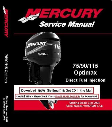 Mercury Optimax 90 Hp 2006 Manual