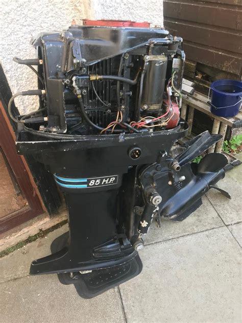 Mercury Outboard 85 Hp Thunderbolt Repair Manual