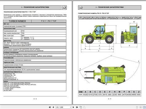 Merlo Loader Spare Parts Manual