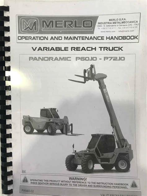 Merlo Telehandler Manuals