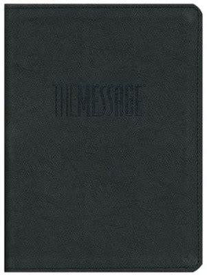 Message REMIX - storm black (The Message Bibles)