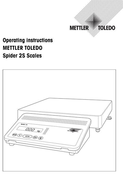 Mettler Toledo Spider Manual