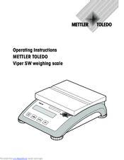 Mettler Toledo Sw Manual