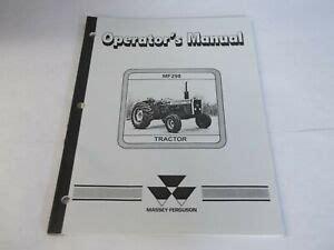 Mf298 Tractor Master Illustrated Parts Manual Catalog