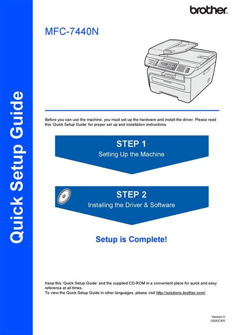 Mfc 7440n Manual