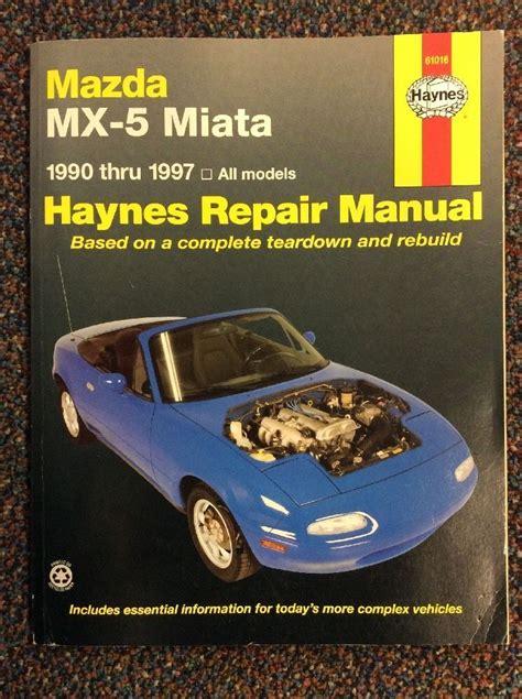 Miata Owner Manual