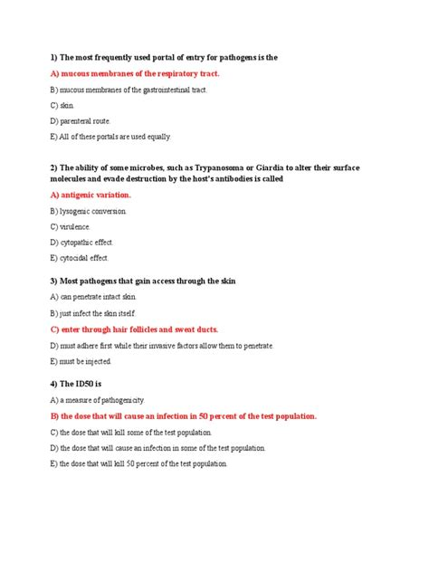Microbiology Quiz Chapter 1