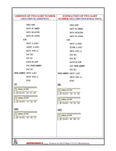 Microchip Microcontrollers Lab Manual