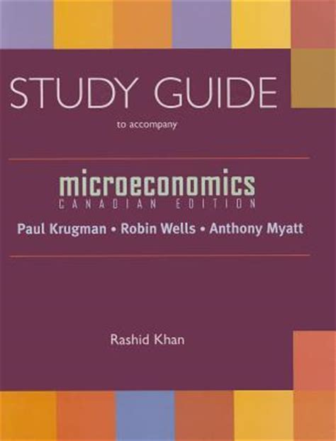 Microeconomics Canadian Edition Study Guide