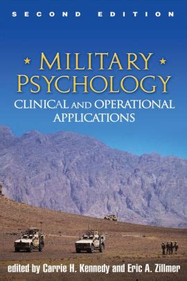 Military Psychology Second Edition Clinical And Operational Applications English Edition