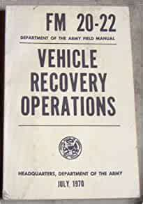 Military Vehicle Operation Manual