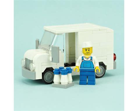 Milk Truck Instruction Only Moc Lego English Edition